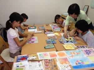 糸島パステルアート教室